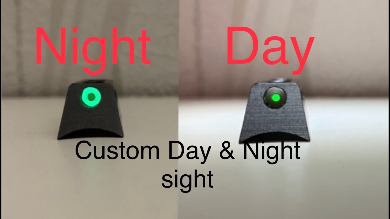 Airsoft Day & Night Front Sight (Personnalisé)