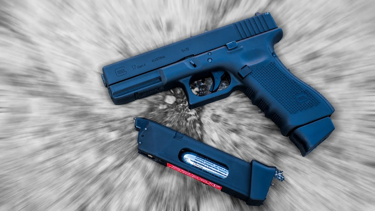Mon premier pistolet GLOCK 17 Airsoft GEN 4 CO² Umarex VFC