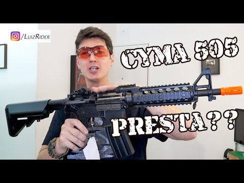 CYMA 505 NOUS ESSAYONS DE COMMENCER AIRSOFT