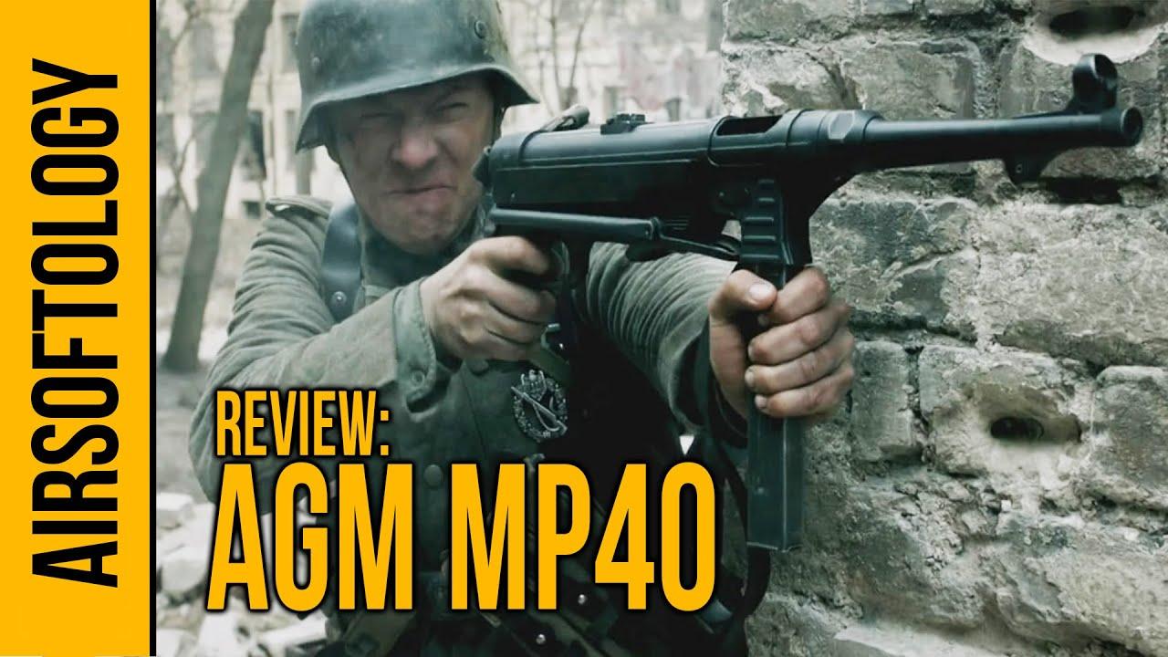 Pistolet Airsoft AGM MP40 – Un souffle du passé | Revue Airsoftology