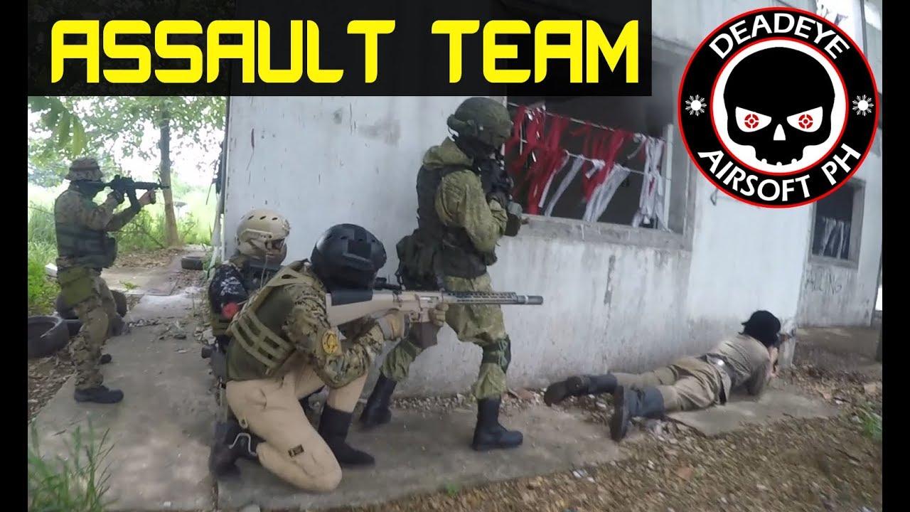 Assault Team Scope Cam | Philippine Airsoft | Asie