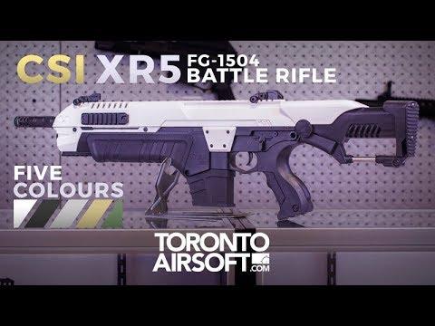Examen approfondi du fusil CSI XR5 Airsoft – TorontoAirsoft.com