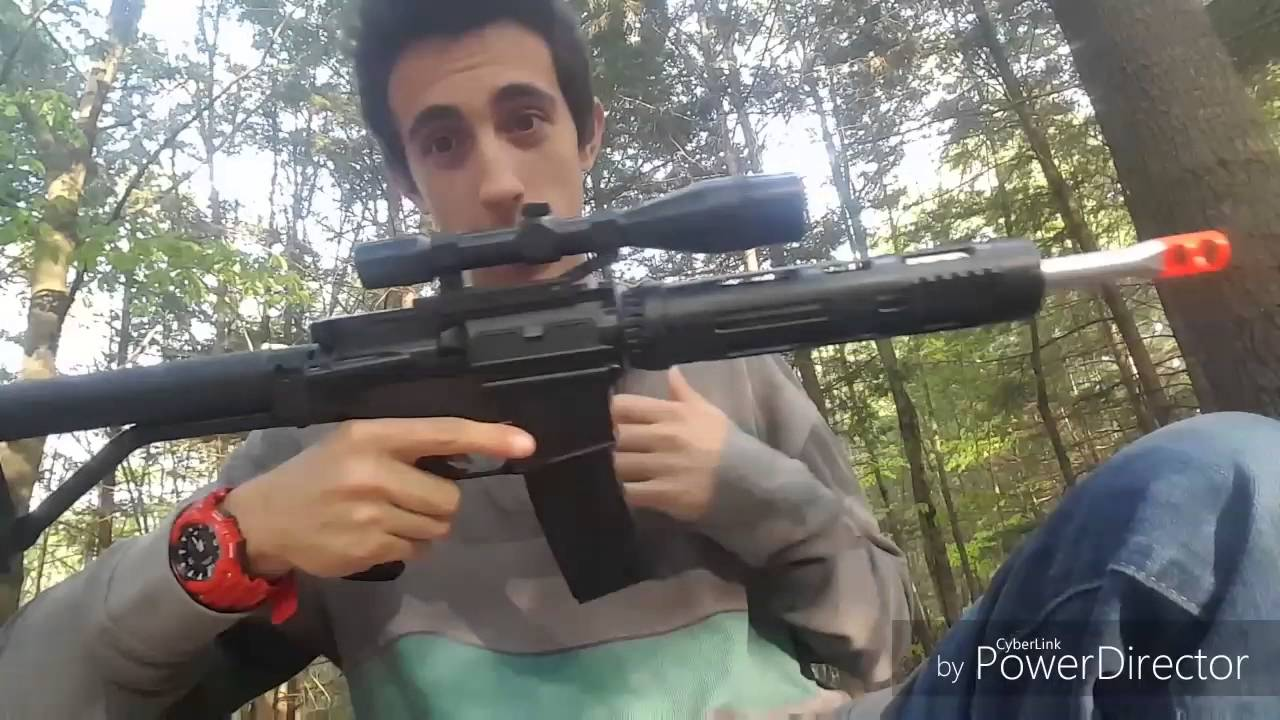 P1136 airsoft review (2 pistolets en 1 combo) + unboxing