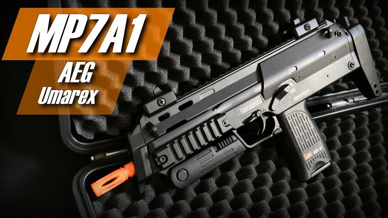 MP7 A1 H & K – Umarex (AEG / AEP)) (Airsoft Review and Test BR)