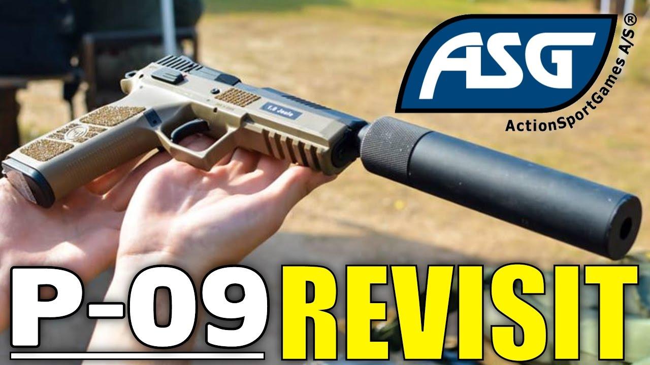 Revue du Pistolet Airsoft ASG CZ P-09 Duty Duty REVISIT – Revue de la Station Airsoft