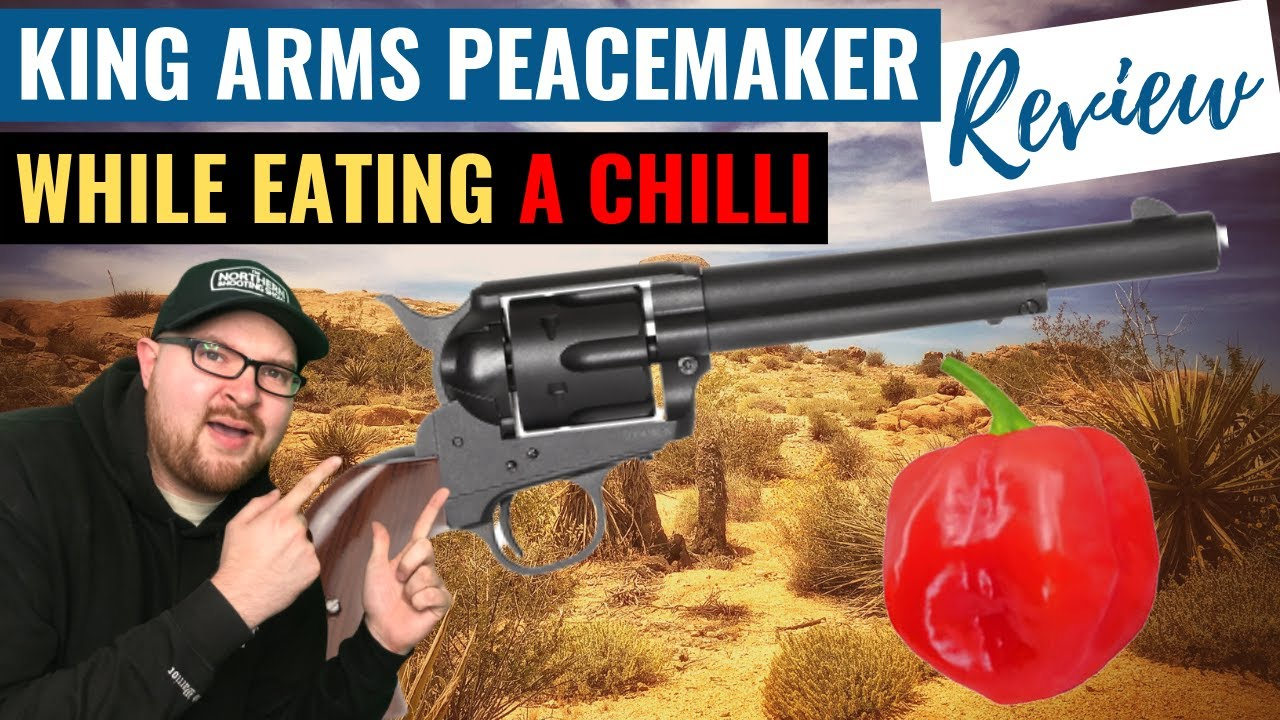 KING ARMS PEACEMAKER SAA.45 REVOLVER | Airsoft Review | Airsoft Revolver