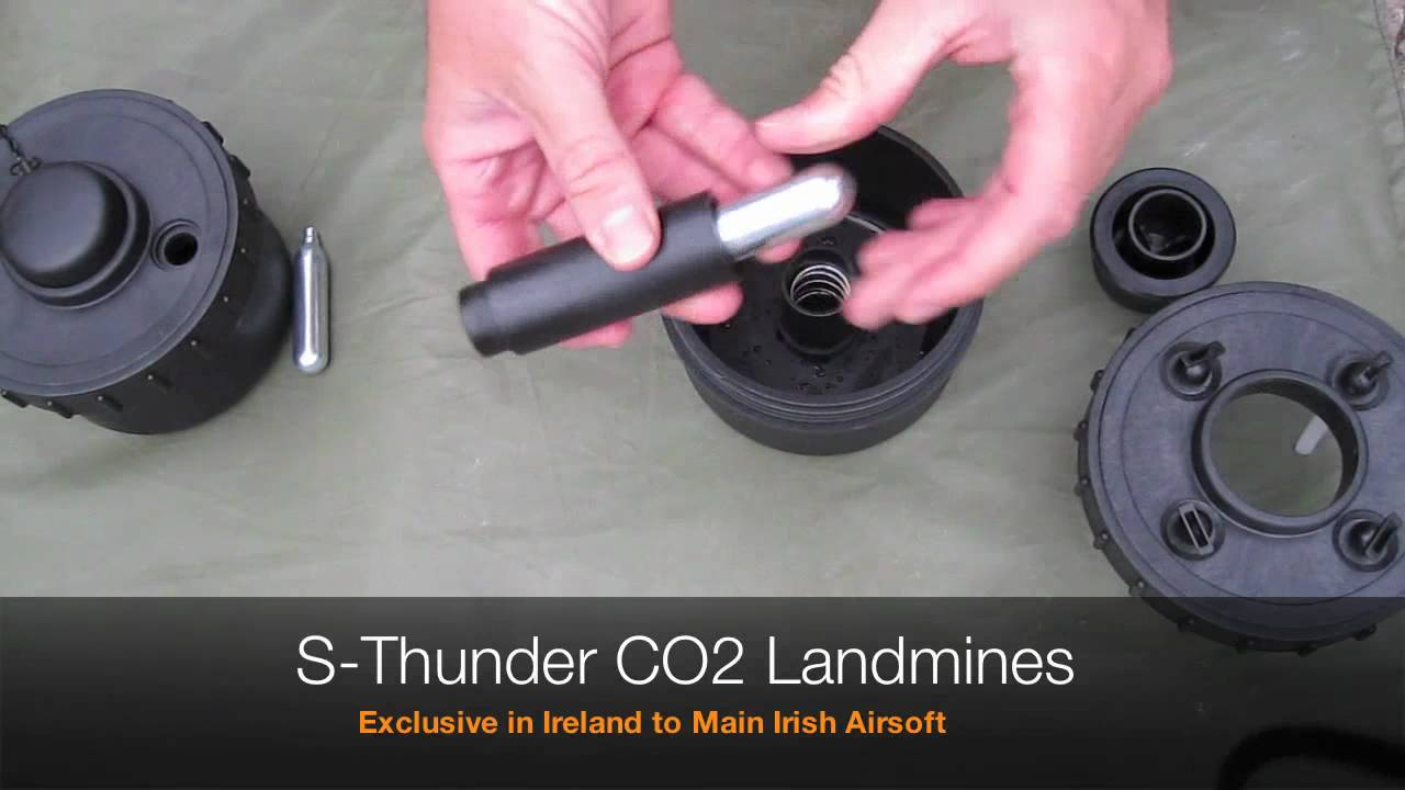 Revue des mines Airsoft S-Thunder