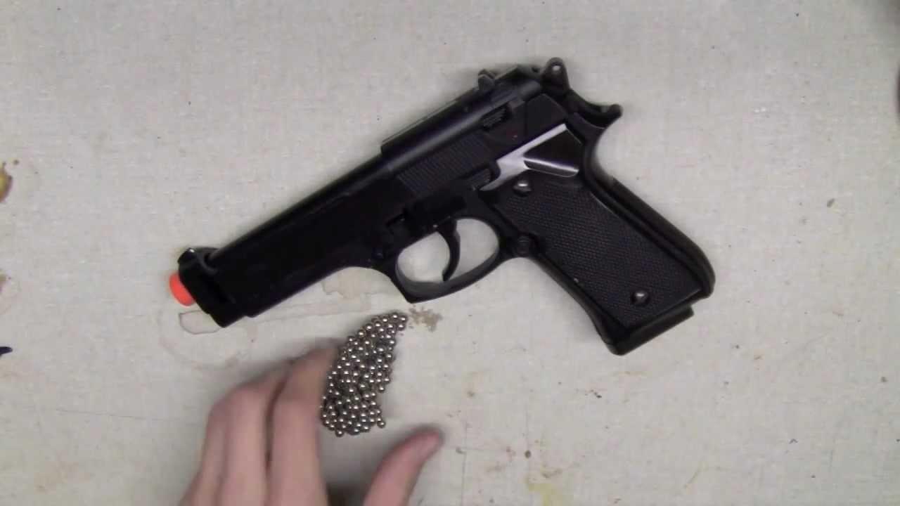 Rapide et facile: Faites un pistolet airsoft de printemps semi-automatique !!
