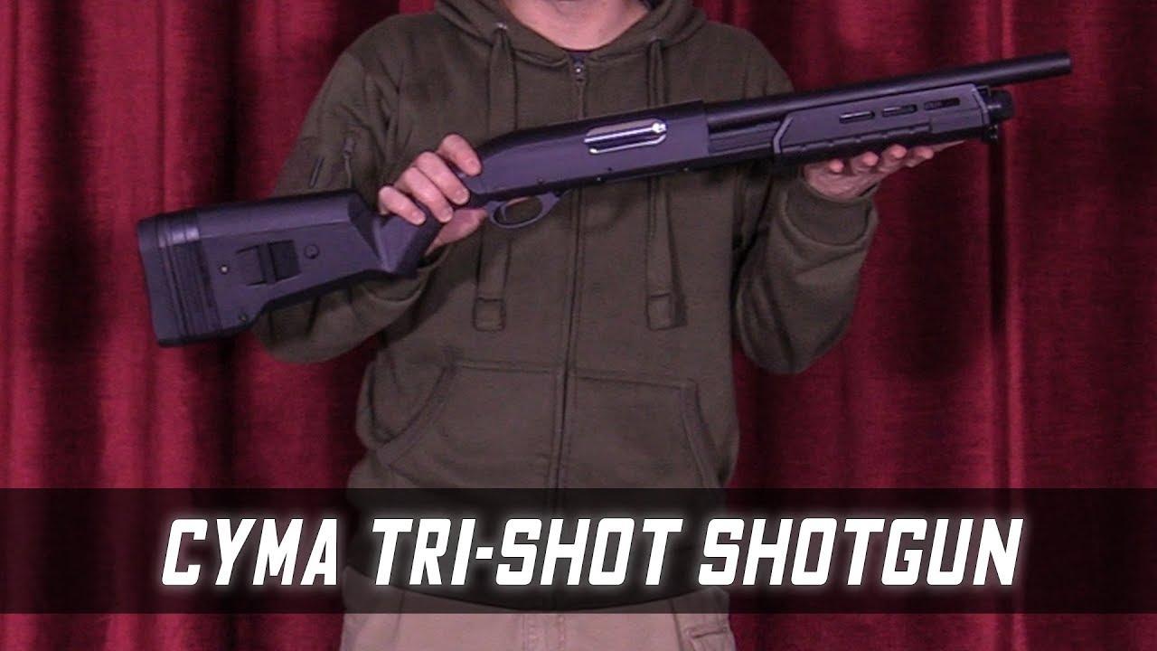 CYMA CM.355 tactique M870 opérateurs Shotgun – Airsoft pas cher