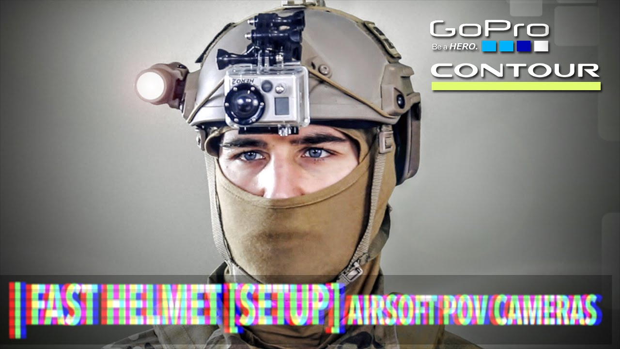 [SETUP] CONFIGURATION RAPIDE DE CASQUES – CAMÉRA POV AIRSOFT (GoPro / Contour)