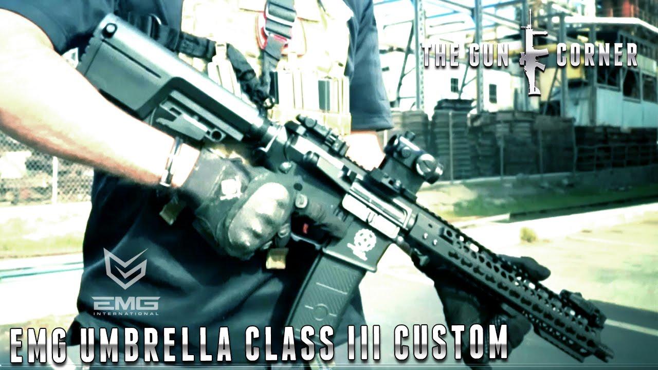 EMG Armour Umbrella Class III Custom [The Gun Corner] Airsoft Evike.com