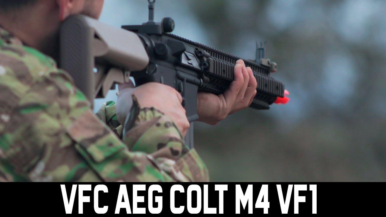 REVIEW VFC AEG COLT M4 VF1 LM4RIS – WARSOFT BRASIL