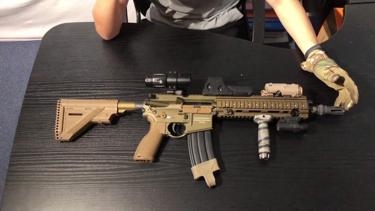 REVIEW AND TEST Hk416 A5 AEG AIRSOFT