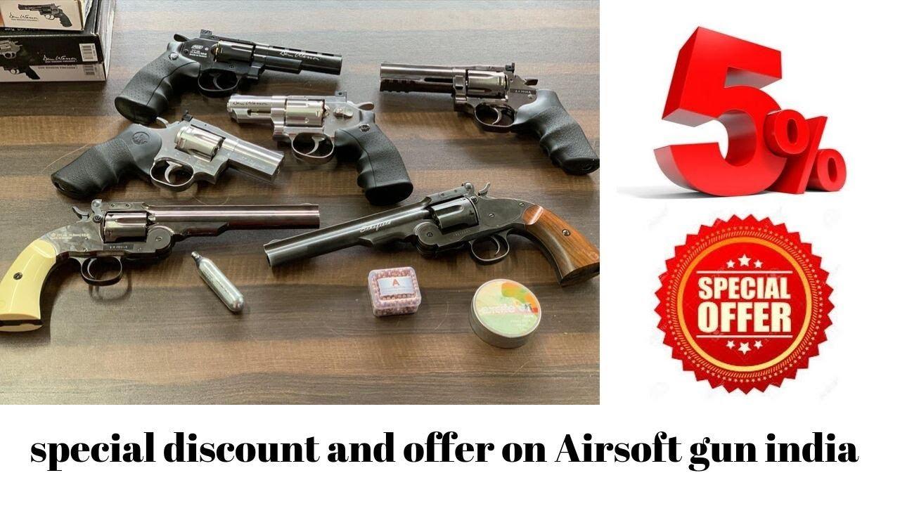 réduction spéciale et offre sur Airsoft gun India