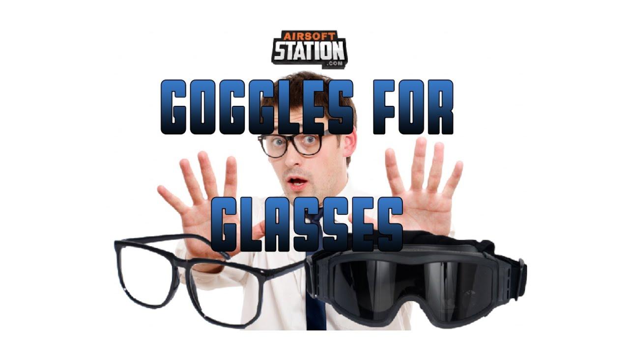 Lunettes Airsoft pour porteurs de lunettes