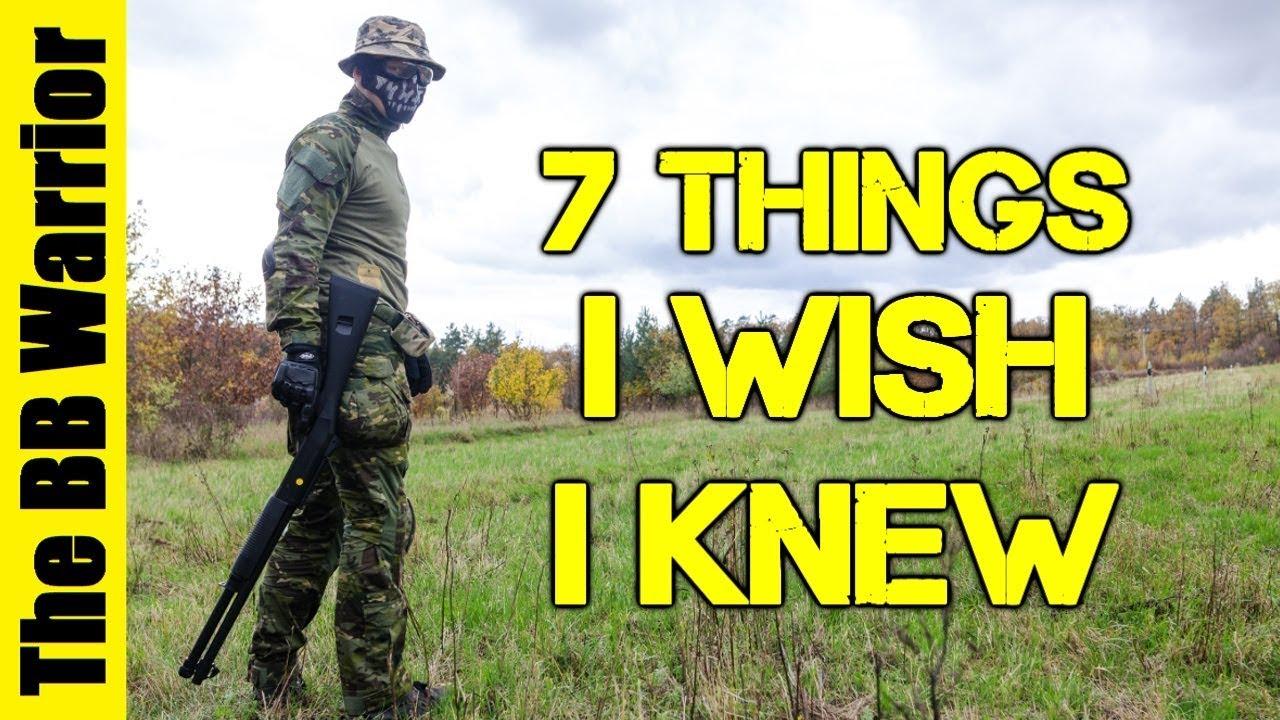 7 choses que je souhaitais savoir quand j'ai débuté Airsoft   Comporter des joueurs de pistolet!