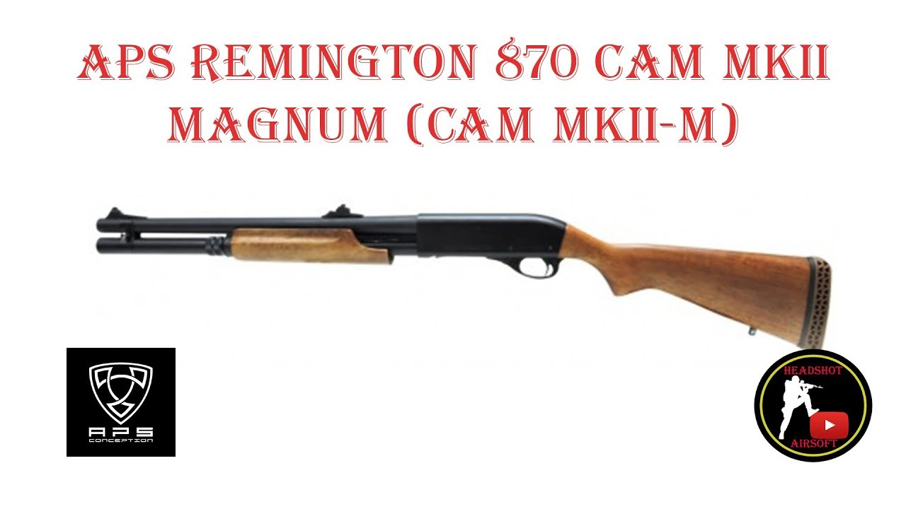 [ОБЗОР] APS – REMINGTON 870 CAM MKII MAGNUM (CAM MKII-M) airsoft (airsoft)