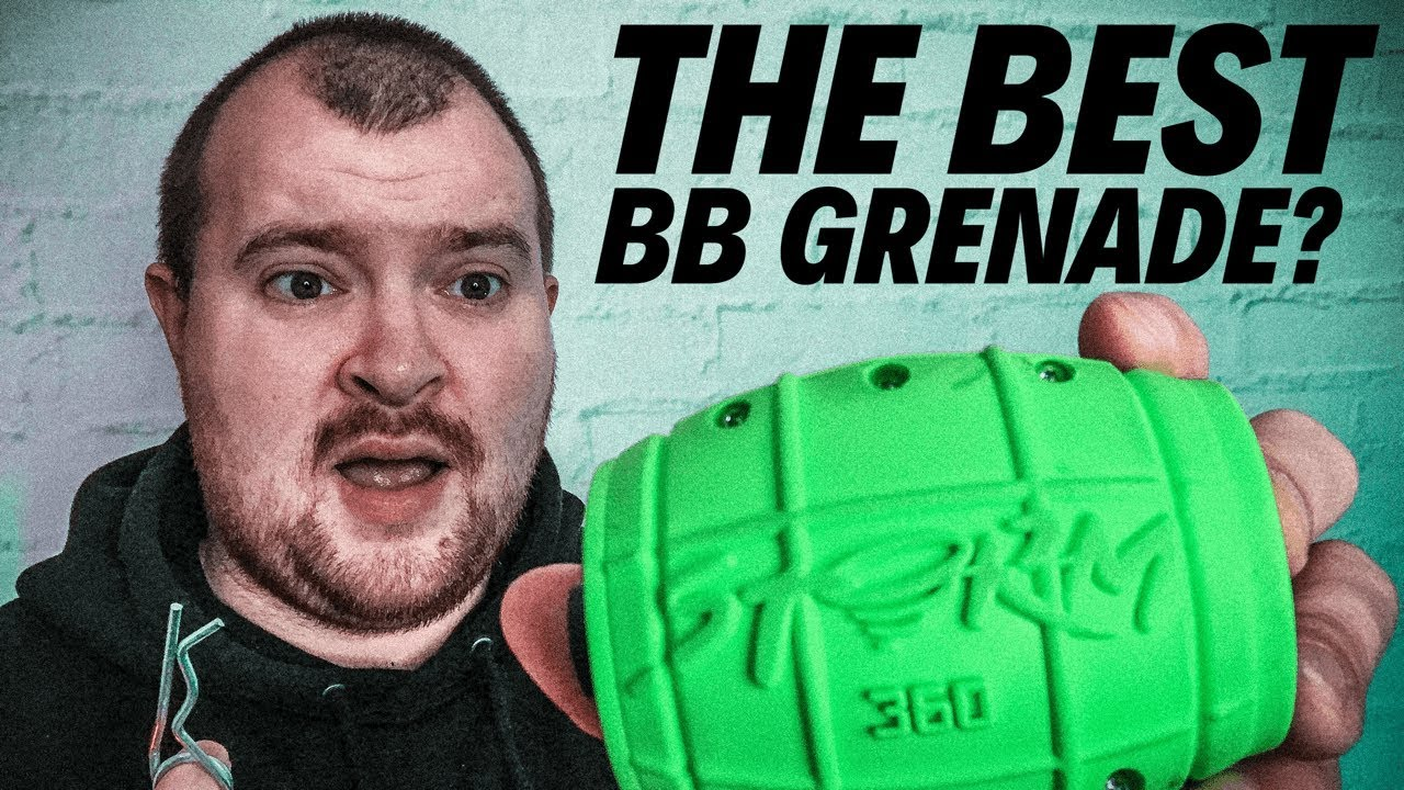 Storm 360 Grenade Review – MEILLEURE GRENADE BB AIRSOFT?