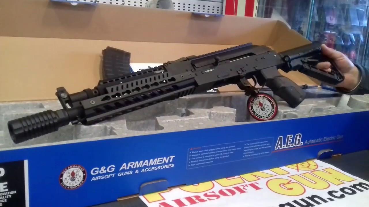 G & G – AEG RK74 E REVIEW SPEARGUN (puertogun airsoft airsoftgun airsoftlife airsoftint)