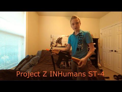 Project Z InHumans ST-4 Airsoft Gun Revue complète!