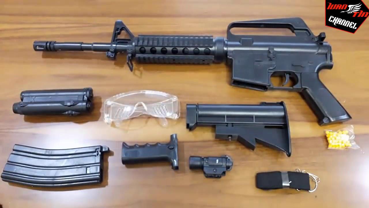 [Review] Vidéo M16 A4 fusil dʻassaut Airsoft Gun Unboxing – IvanTín IT