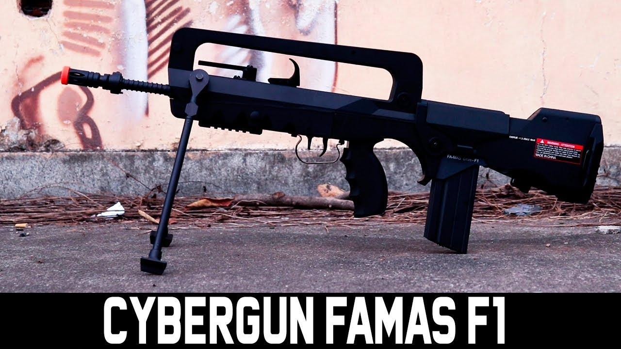 REVUE CYBERGUN FAMAS F1 – WARSOFT BRASIL