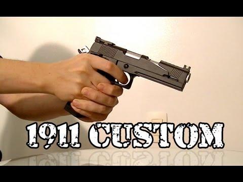 Je vends Airsoft – 1911 Custom GBB Co2 Pistol – Légalisé États-Unis d'Amérique