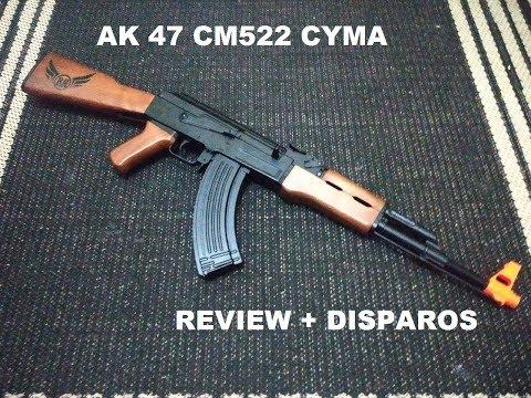 AK47 CM522 – CYMA Review + Shots