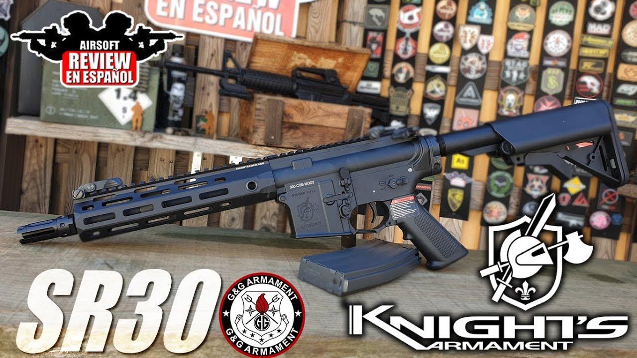 SR30 ARMEMENT G & G KNIGHT & S   Airsoft Review en espagnol