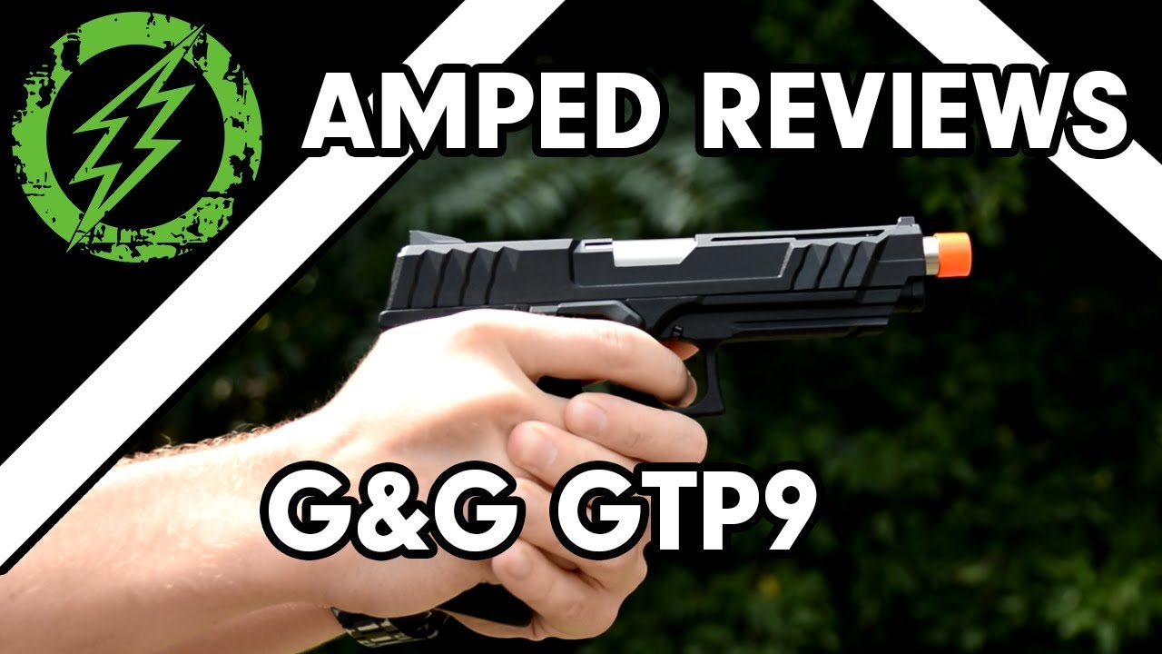 Test Amped – Pistolet Airsoft G & G GTP9 GBB