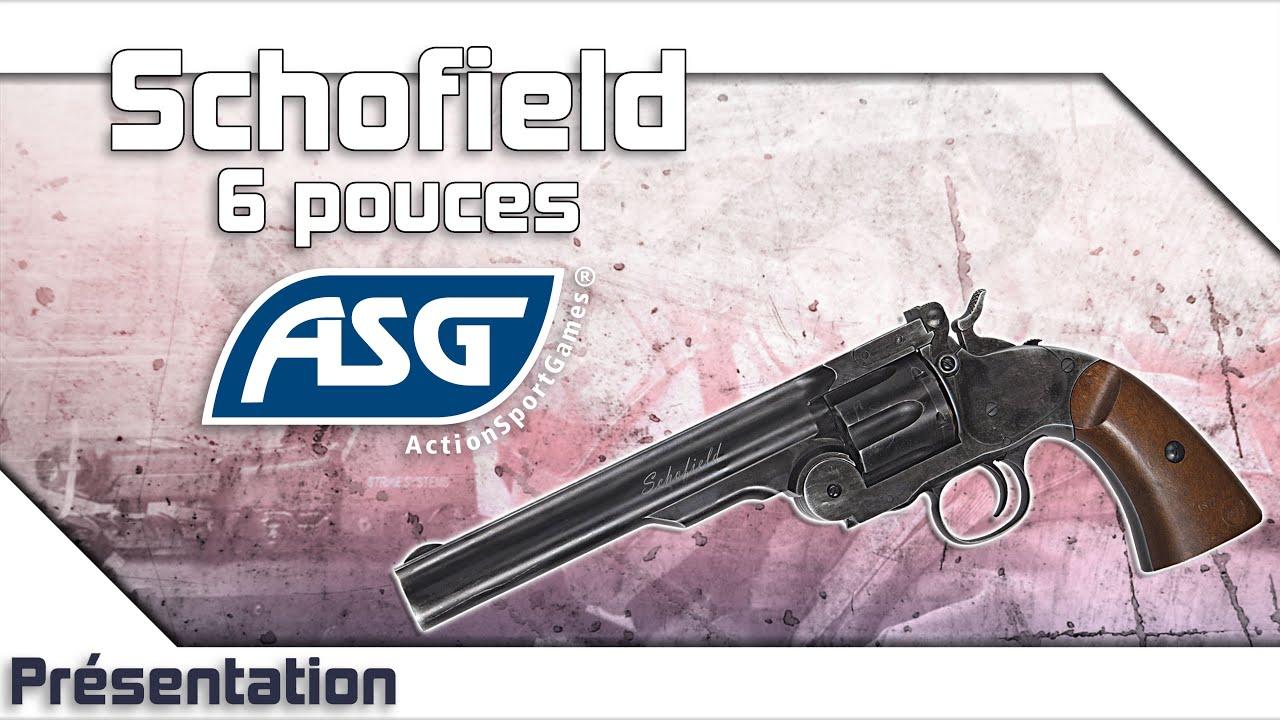 [Schofield 6 pouces – ASG] Présentation | Review | Airsoft FR – EN subs