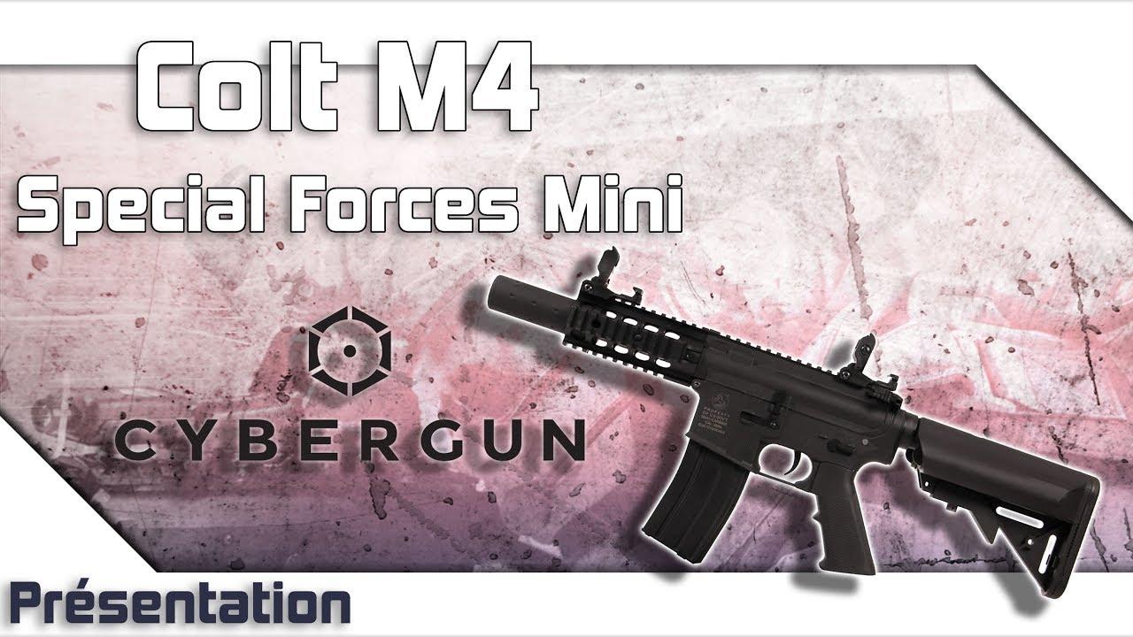 [Colt M4 Special Forces Mini – Cybergun] Présentation   Review   Airsoft FR – EN subs