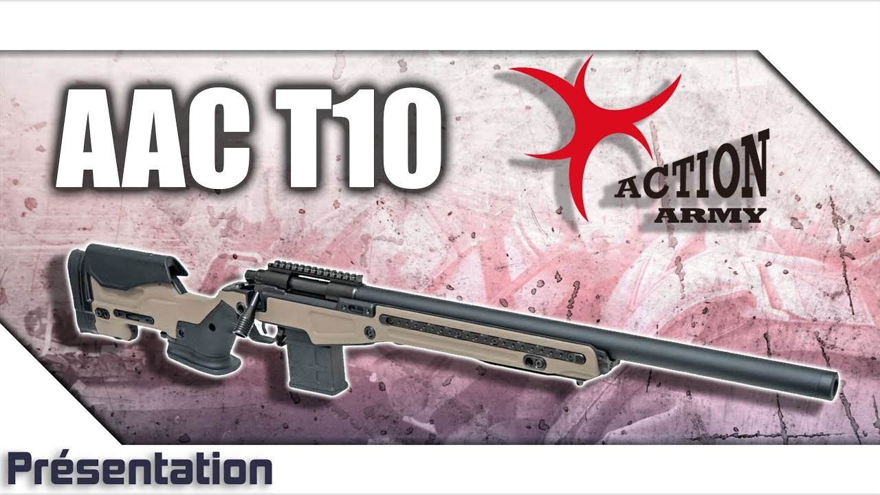 [AAC T10 – Action Army] Présentation | Review | Airsoft FR – EN subs