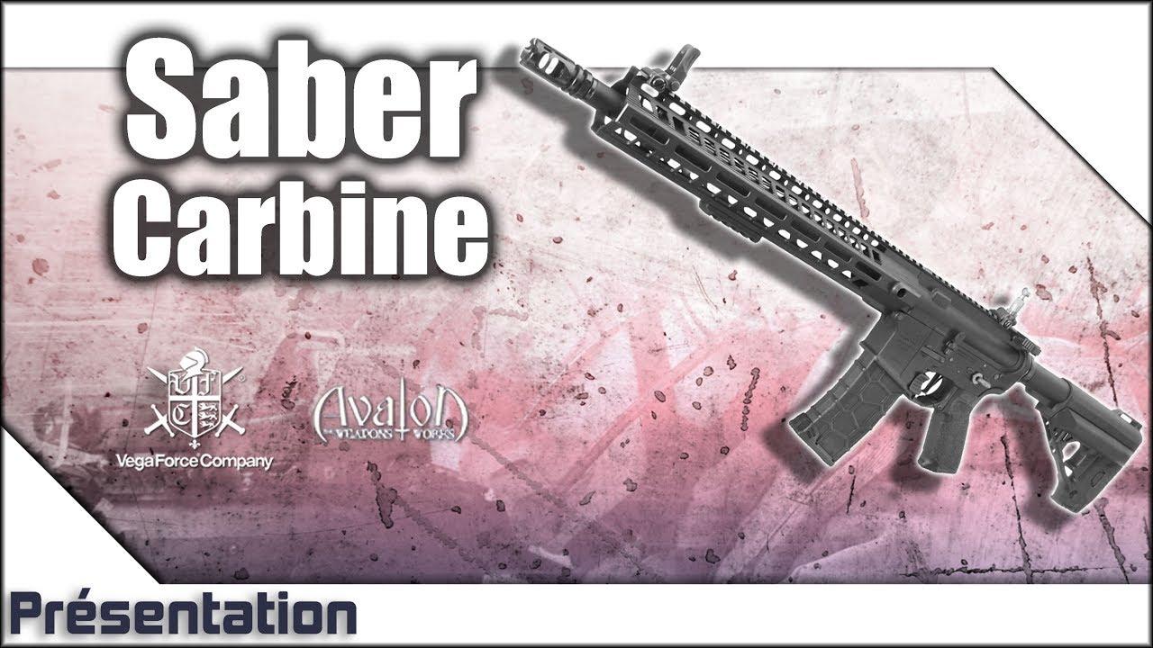[Saber Carbine – Avalon/VFC] Présentation | Review | Airsoft FR – EN subs