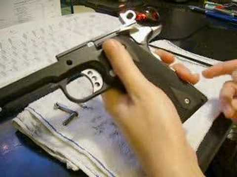 Airsoft 1911 Takedown And Assembly [Part 1]