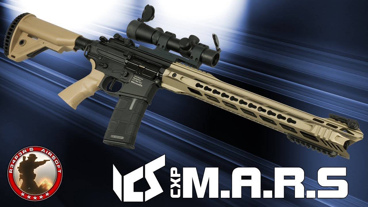 [Review] ICS CXP MARS (Komodo, Carbine) 6mm SAEG Airsoft / Airsoft – 4K UHD