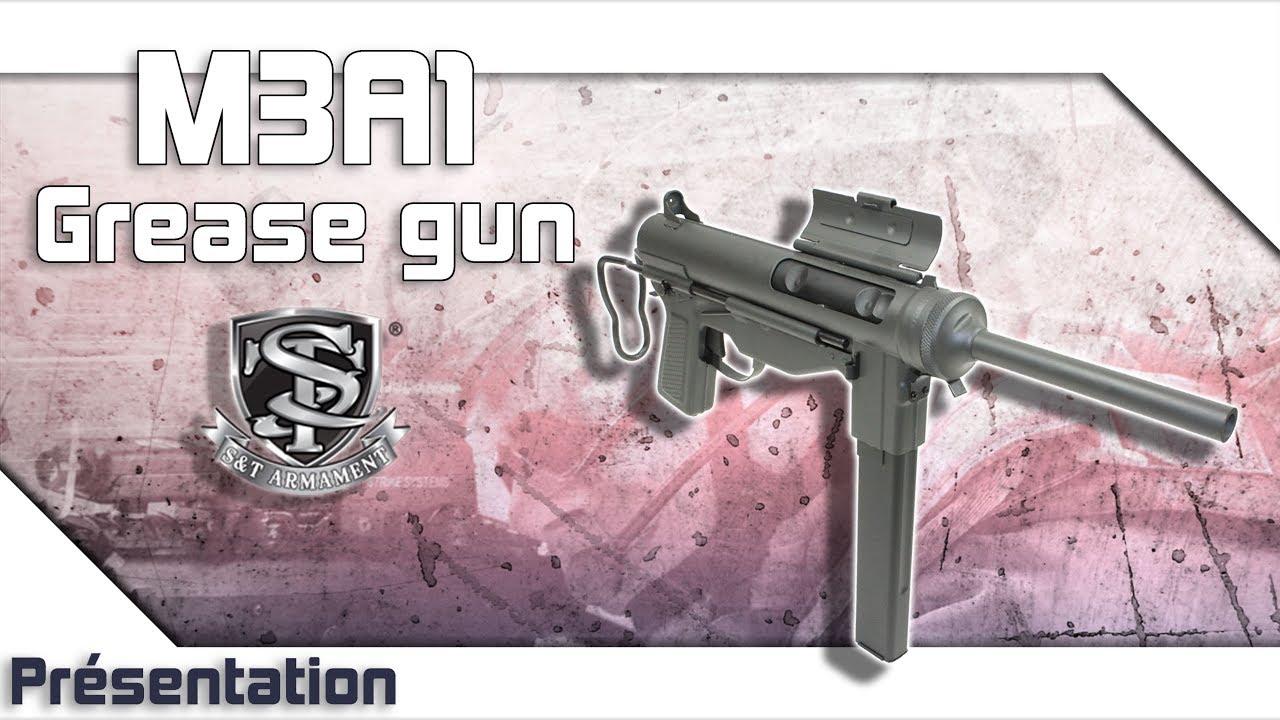 [M3A1 Grease gun – S&T] Présentation | Review | Airsoft FR – EN subs