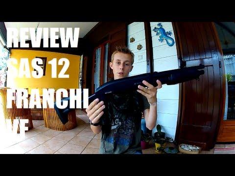 [Airsoft] Review du FRANCHI SAS 12 tactical de chez ASG