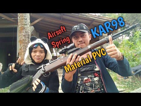 KAR98 Fusil Airsoft Printemps Examen À La Main