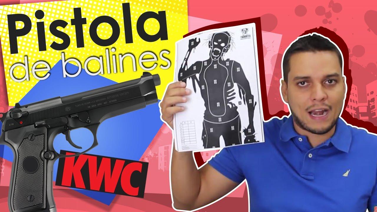 Pistolet de contrôle Bbs KWC pour tous les pistolets Colombie-Equateur à Cali et Quito
