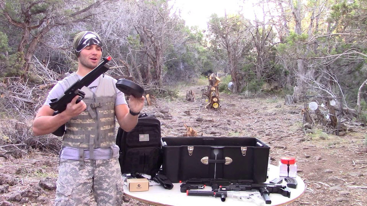 Airsoft Mr.Mom Top 3 des armes à feu GFTommy & Uzi Boo! Avis sur Fullauto