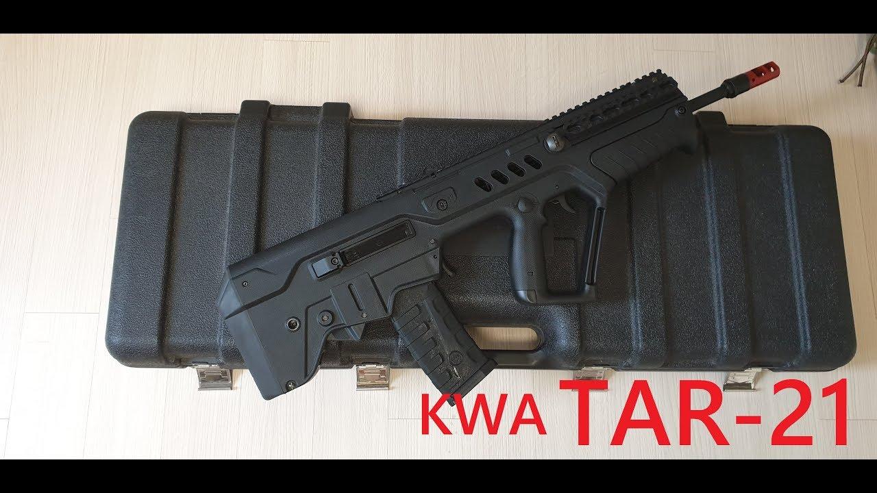 KWA Tavor Tar-21 GBB Airsoft GBBR Review