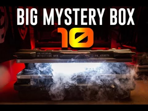 Airsoft GI BIG MYSTERY BOX 10 !!!!!!! Déballage