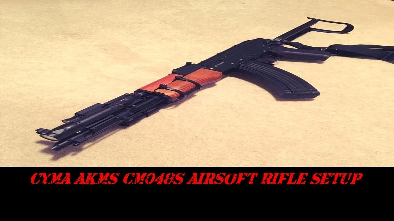 CYMA AKM CM048S Configuration du fusil Airsoft