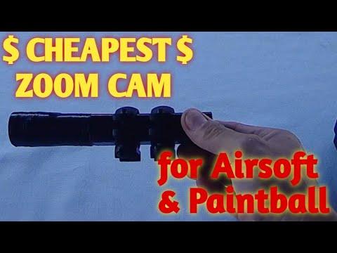 La caméra zoom Airsoft / Paint Ball la moins chère disponible là-bas