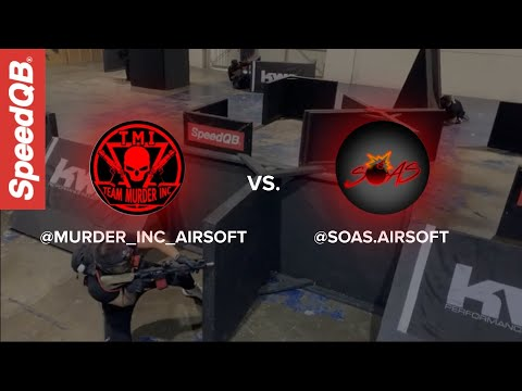 MURDER INC. Vs SOAS Airsoft | SpeedQB Key Match Up