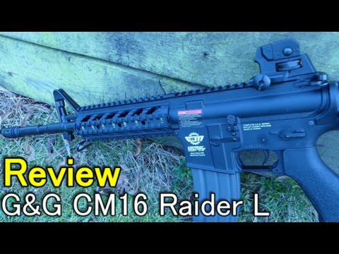[Review] LE MEILLEUR 0.5J AIRSOFT // G & G CM16 Raider L + Unboxing || Q Airsoft