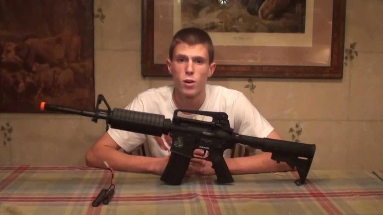 Test du pistolet Airsoft Colt M4A1 Carbine