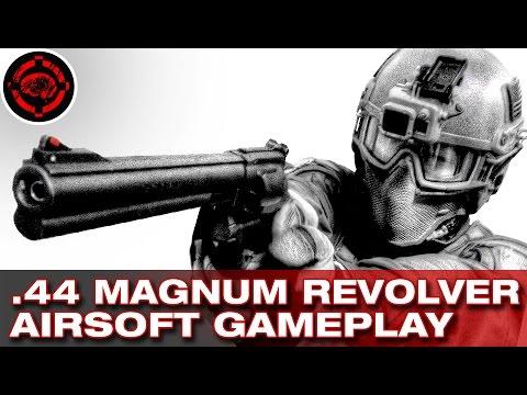 .44 Magnum Gameplay Revolver Airsoft