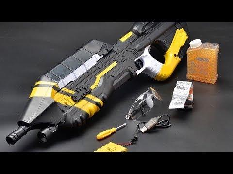 Halo Gel Gun Unboxing et examen